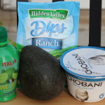 4 Ingredient Avocado Ranch Dip
