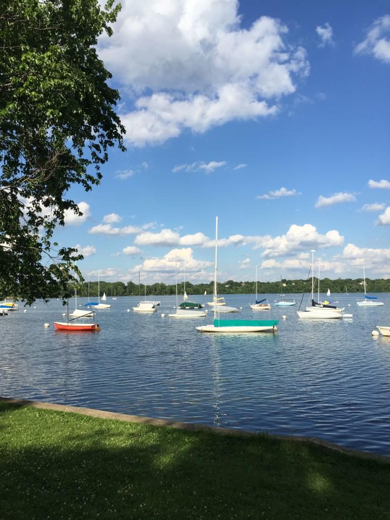 Lake Calhoun boats