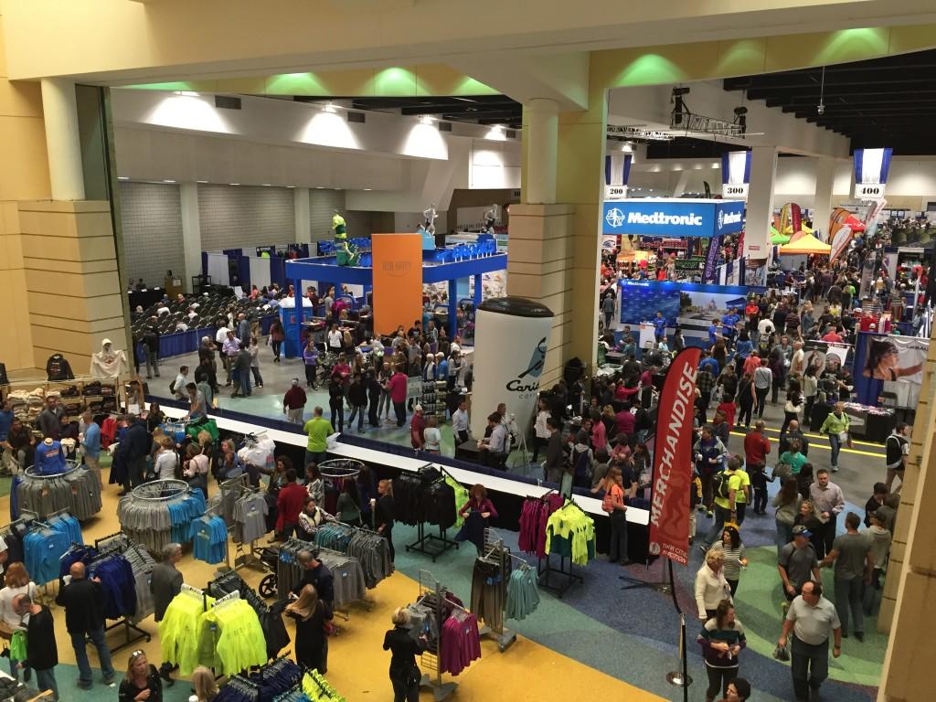 Twin Cities Marathon expo
