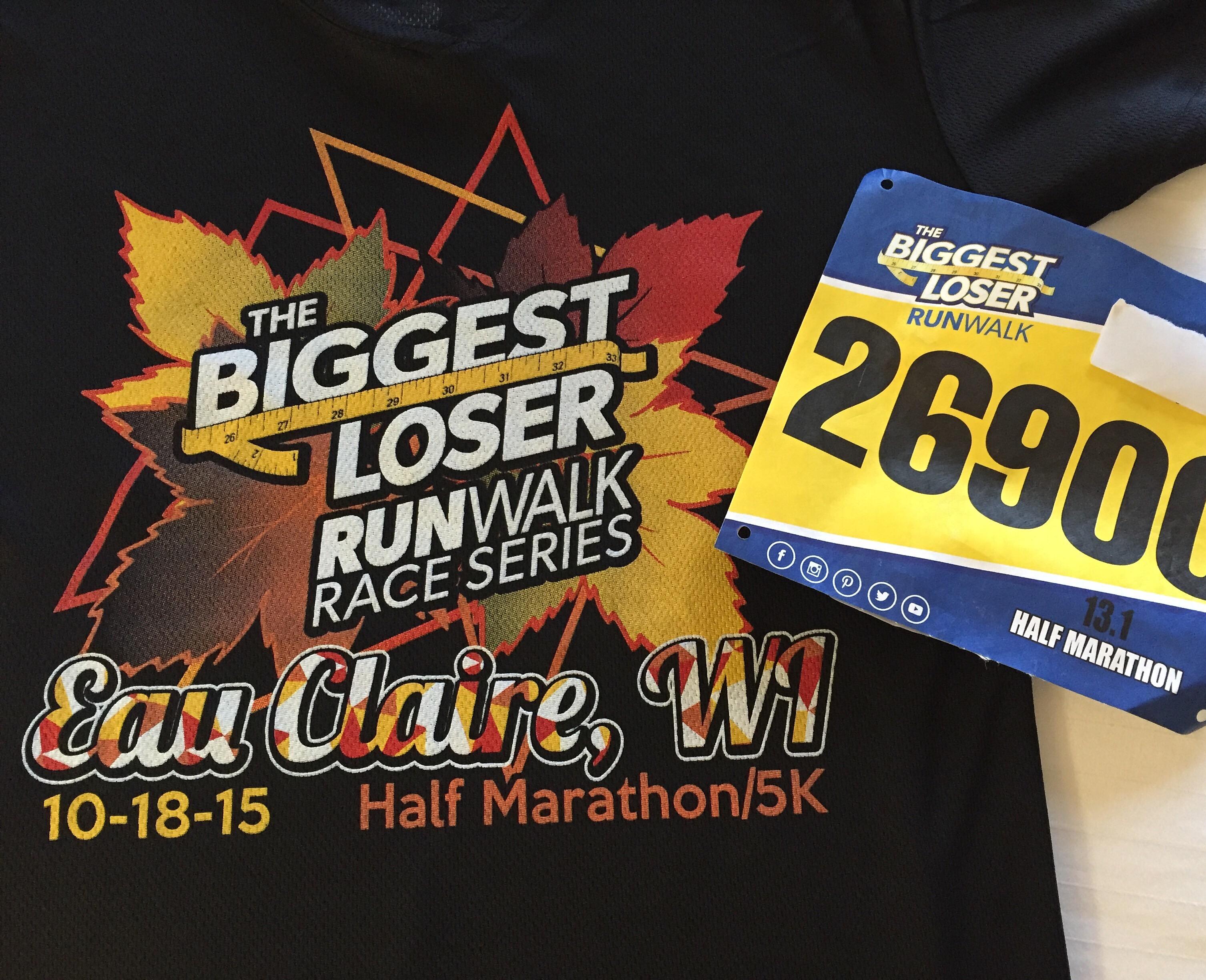 Biggest Loser Half Marathon Eau Claire