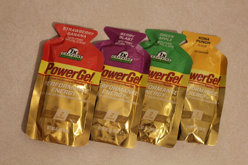 PowerBar energy gels