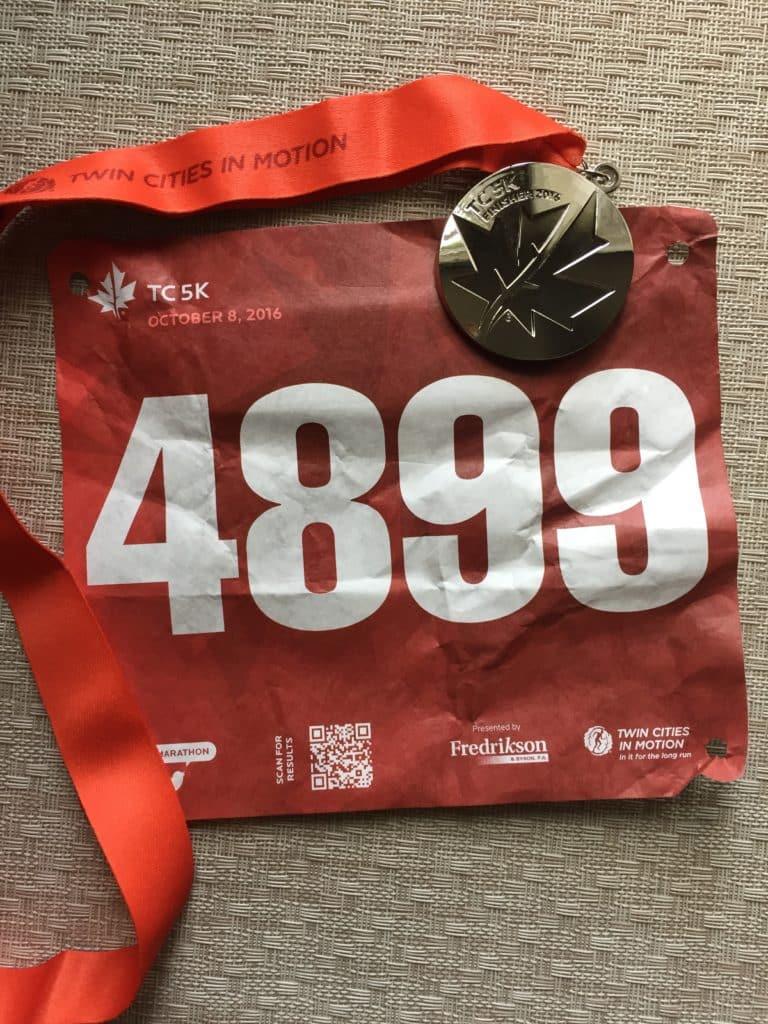 Twin Cities Marathon 5k