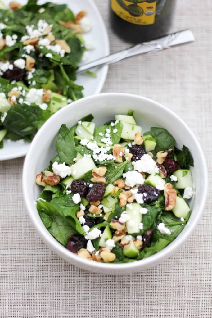 Delicious fall salad for National Healthy Lunch Day