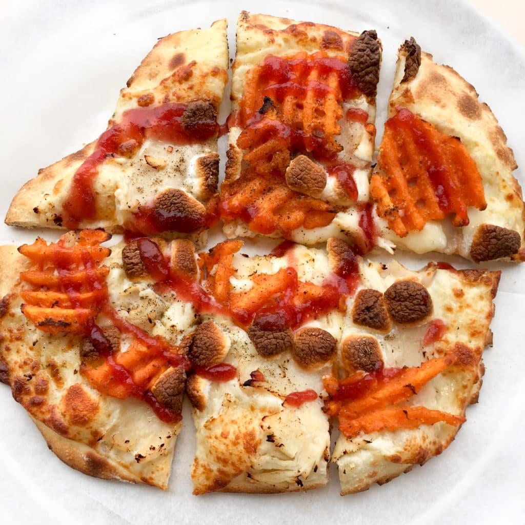 Azzip Gobble Wobble pizza