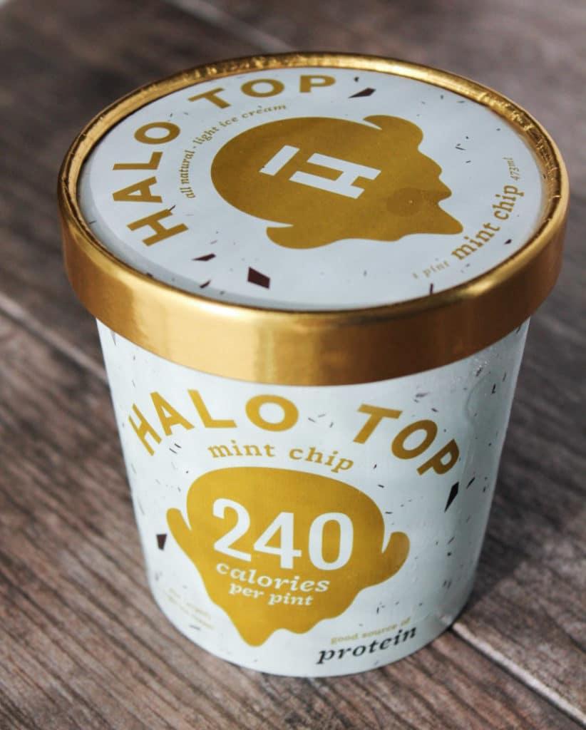Ice cream comparison - Halo Top