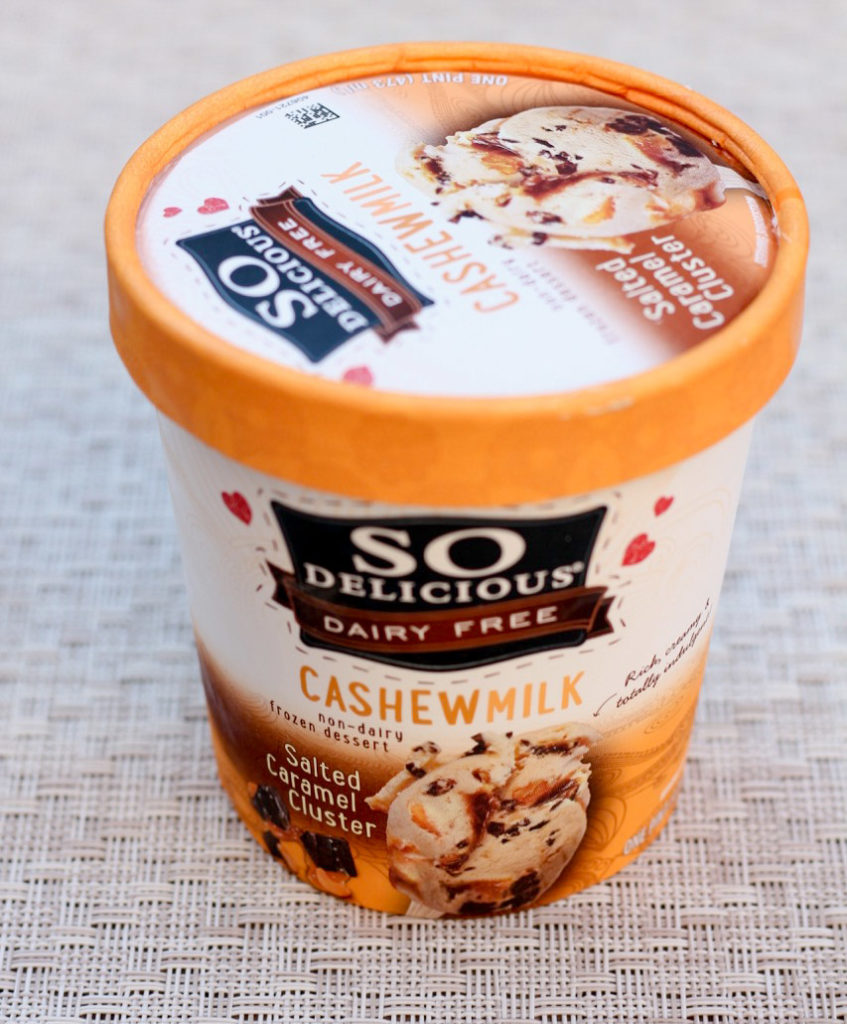 Ice cream comparison - SO Delicious