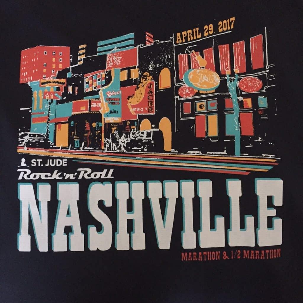 Rock n Roll Nashville race shirt
