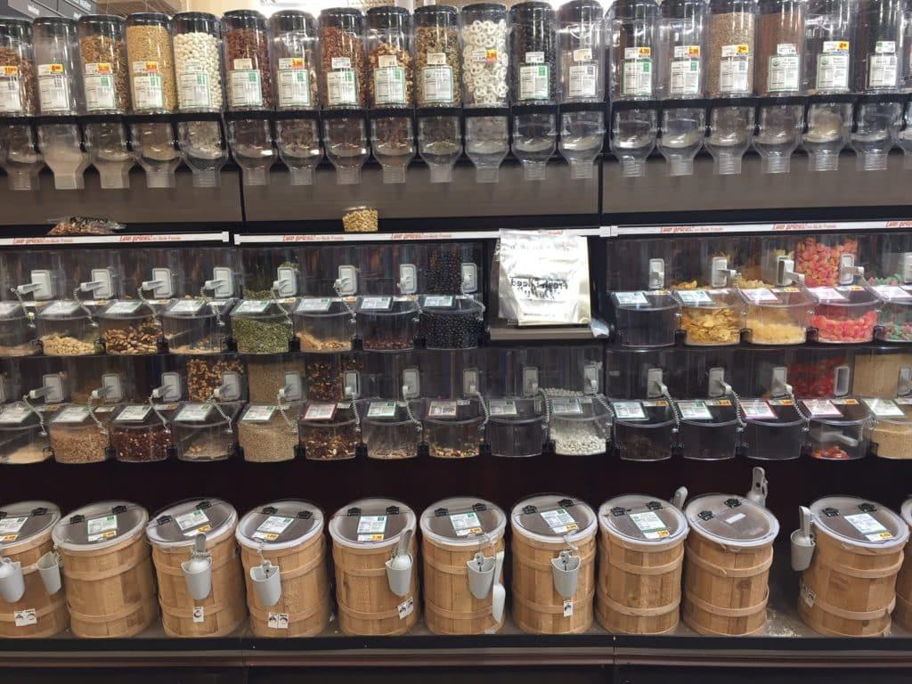 Shop bulk bins