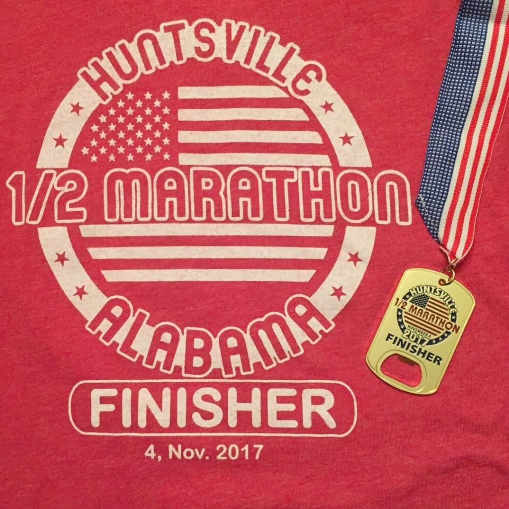 Huntsville half marathon 2017
