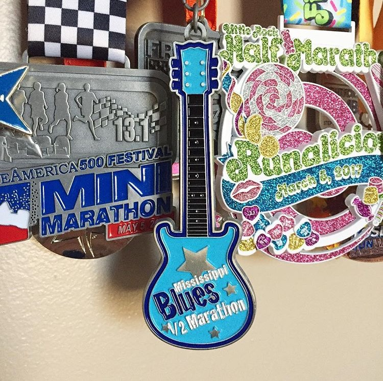 MS Blues race medal